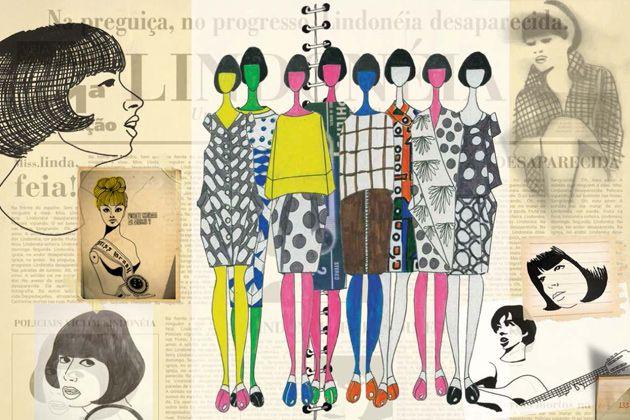 Livro 'Caderno de roupas, memórias e croquis' Ronaldo Fraga