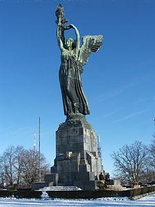 Il Faro della Vittoria (Torino), anche noto come Faro della Maddalena, è un monumento dedicato alla Vittoria Alata, posto sulla sommità del Parco della Rimembranza presso il Colle della Maddalena. L'ottica del faro è alloggiata nella fiaccola che sorregge tra le mani l'imponente statua in bronzo, opera dello scultore torinese Edoardo Rubino.