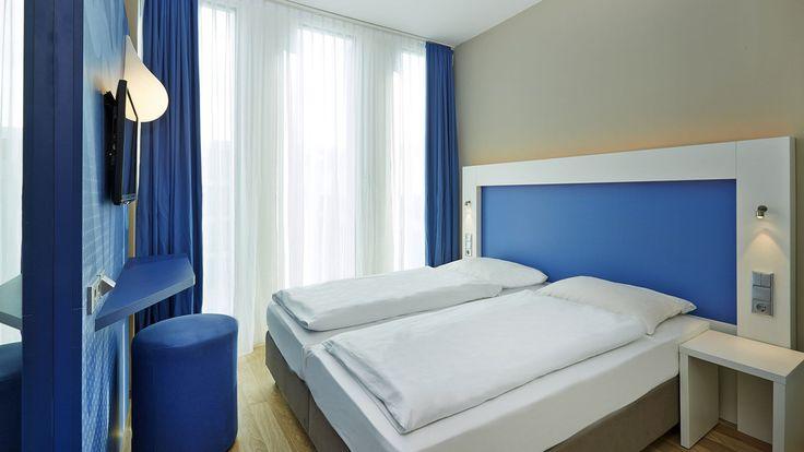 Doppelzimmer des H2 Hotel München Messe