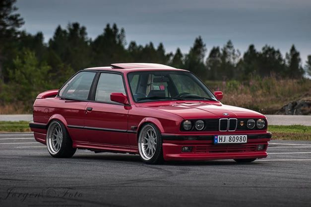 Bmw 3 Series In Norway Bmw E30 And Bmw E30