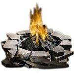 Outdoor Patioflame Stainless Steel Fire Pit- Propane