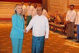 Thein Sein - Burma 2013