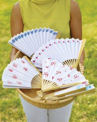"""See the """"Stamped Paper Fans"""" in our  gallery"""