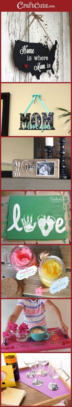 7 Simple DIY Gifts for Mom | Mother's Day Gift Ideas | CraftCuts.com