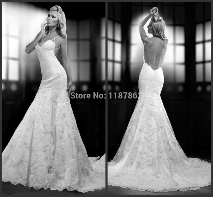 Find More Wedding Dresses Information About WD 0351 Fashion Sexy Low Open Back Lace