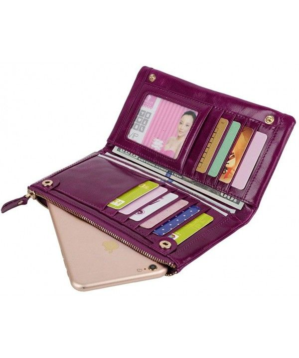 SOFT PURPLE LEATHER SMALL COIN PURSE CARD HOLDER POUCH ZIPS WALLET ORGANISER