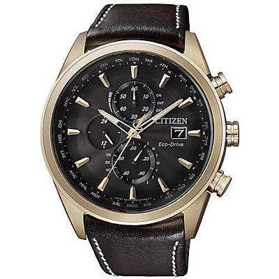 Citizen man chronograph watch Radio Controllati AT8019-02W - WeJewellery
