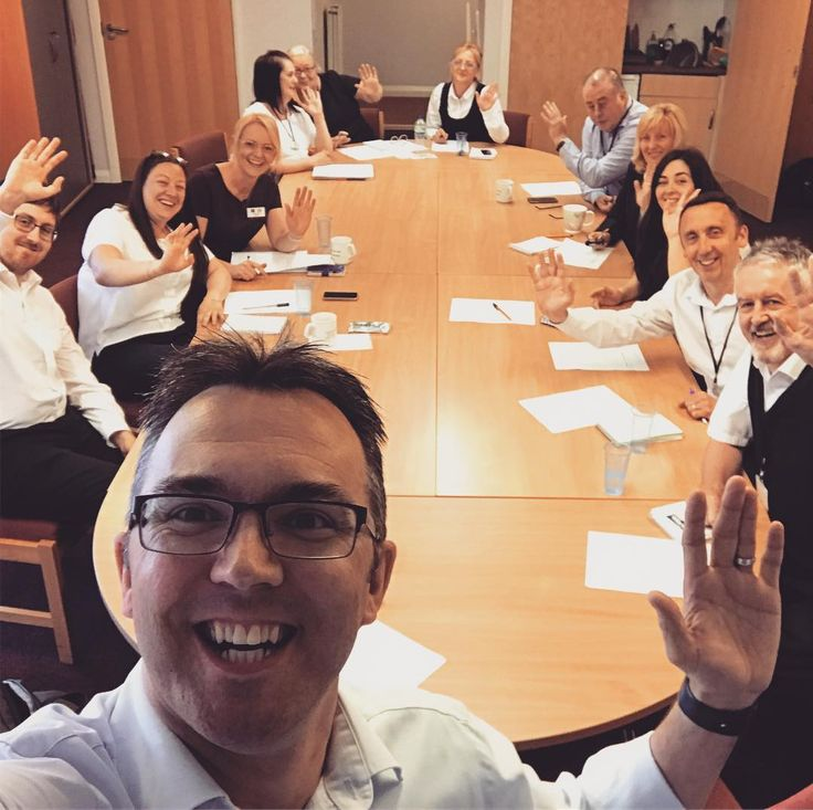 Fun morning with the #Spireview Housing Association team delivering #SocialMediaTraining on behalf of #SHARE.  Today's focus was #customerservice and #socialmediadangers.  Here's the obligatory #GroupSelfie - #Smile! . . . #teambuilding #cpd #alwayslearning #socialservice #housingassociation #glasgow #scotland
