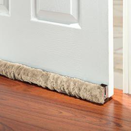 Rolling Draft Guard, Door Draft Stopper, Door Draft Guard | Solutions