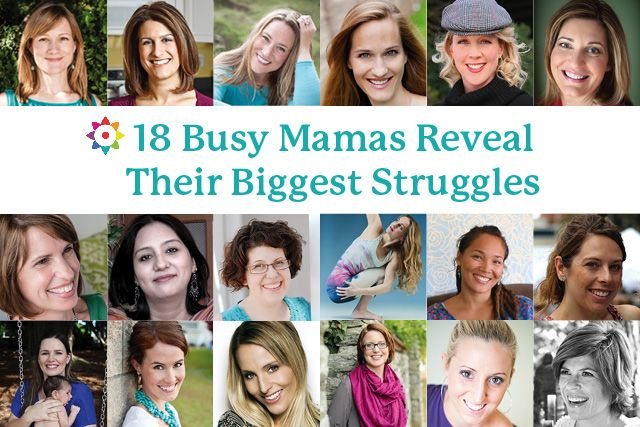 Ever feel like other mothers have got it together more than you? 18 mothers reveal their biggest struggles - and what they do to make things better.