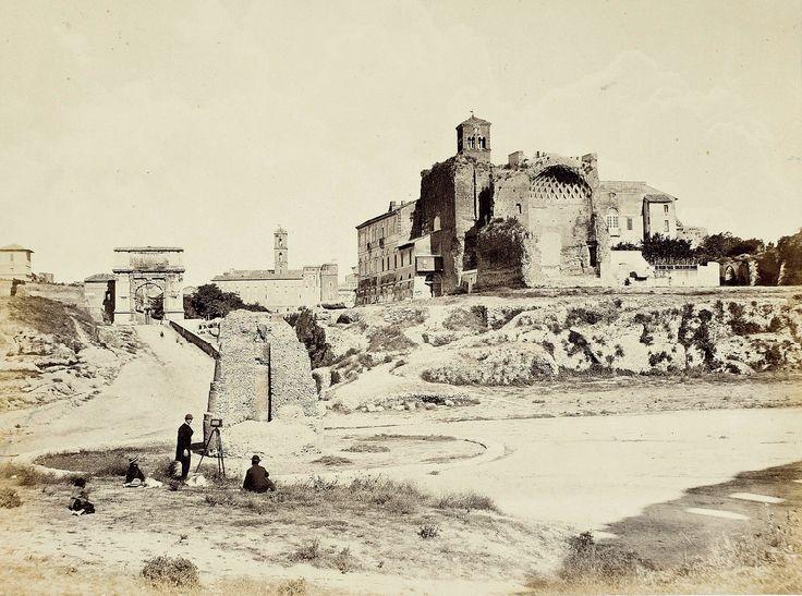 Tempio di Venere 1860