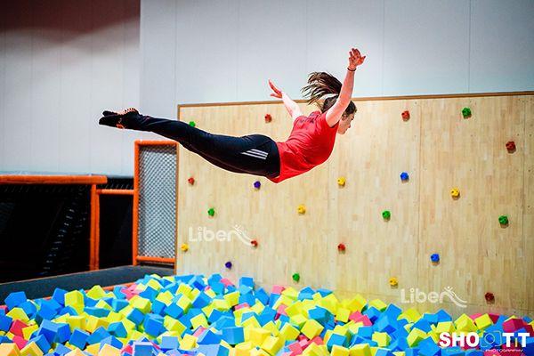 82 best trampoline parks images on pinterest amusement for Indoor trampoline park design manufacturing