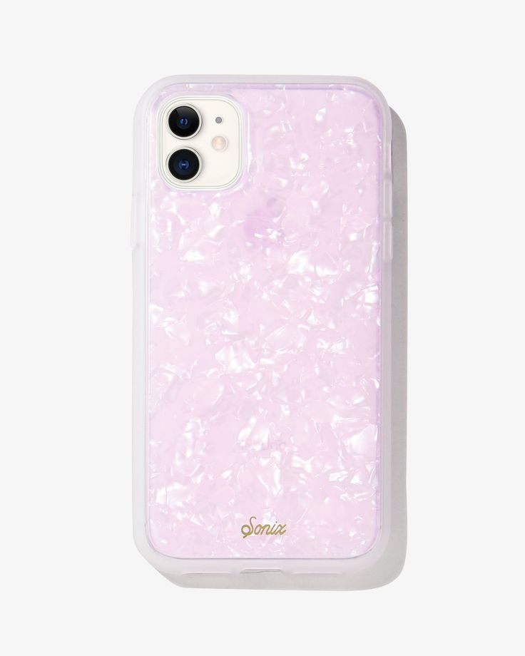 Pink pearl tort iphone 11 xr in 2020 apple phone