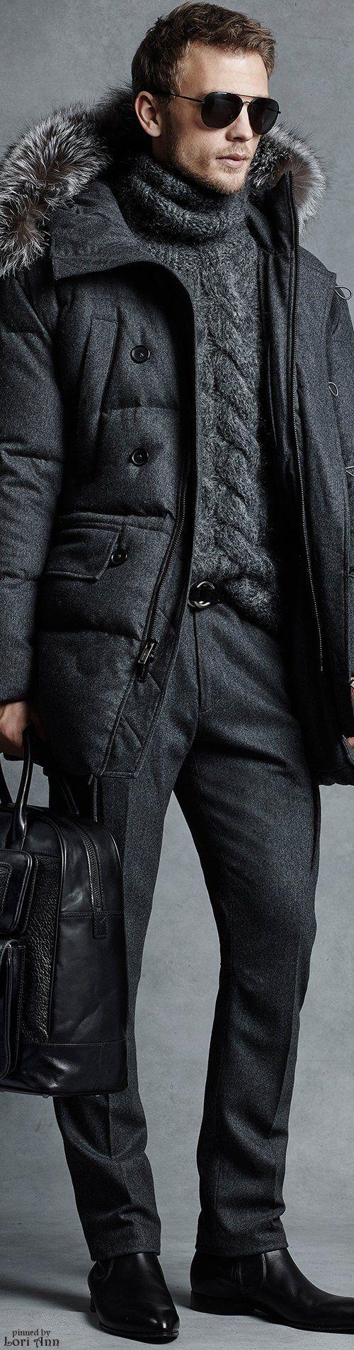 Michael Kors Fall 2015 Menswear - MONOCROMÁTICO E PERFEITO.