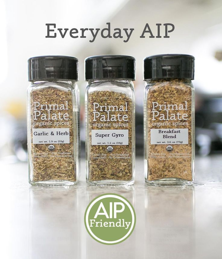 Our mission has always been to help make healthy cooking easier for all of you, and cooking while following an AIP diet can be tricky and frustrating. The spice blends we have created for the AIP community are extremely versatile blends. They are super flavorful, and the best part is that they can be used by ANYONE! You do not have to be following an AIP diet, we find new ways to use these new blends at every meal. We hope you love them! #aippaleo