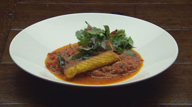 MasterChef - Red Emperor on Spicy Fragrant Sambal - Recipe By: Diana Chan