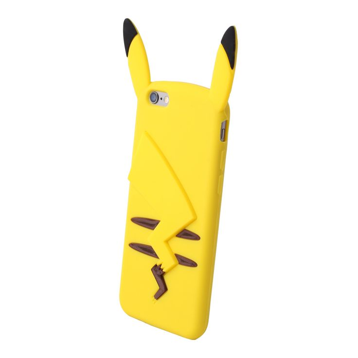 Remember playing Pokemon Yellow and having your favourite electric mouse follow you around? You could (sorta) do that with this Pikachu phone case! Available for iPhone 5, iPhone 6, and Samsung Galaxy