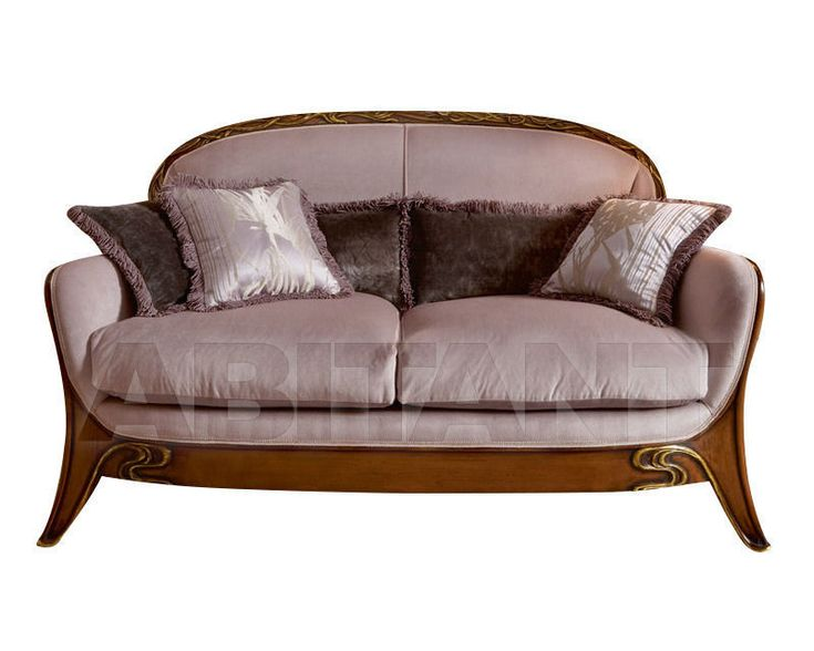 Диван розовый Medea 597 , каталог мягкой мебели: фото, заказ, доставка - ABITANT , Москва