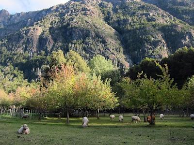 Refugio Cajon Azul, El Bolson (Patagonia), Argentina