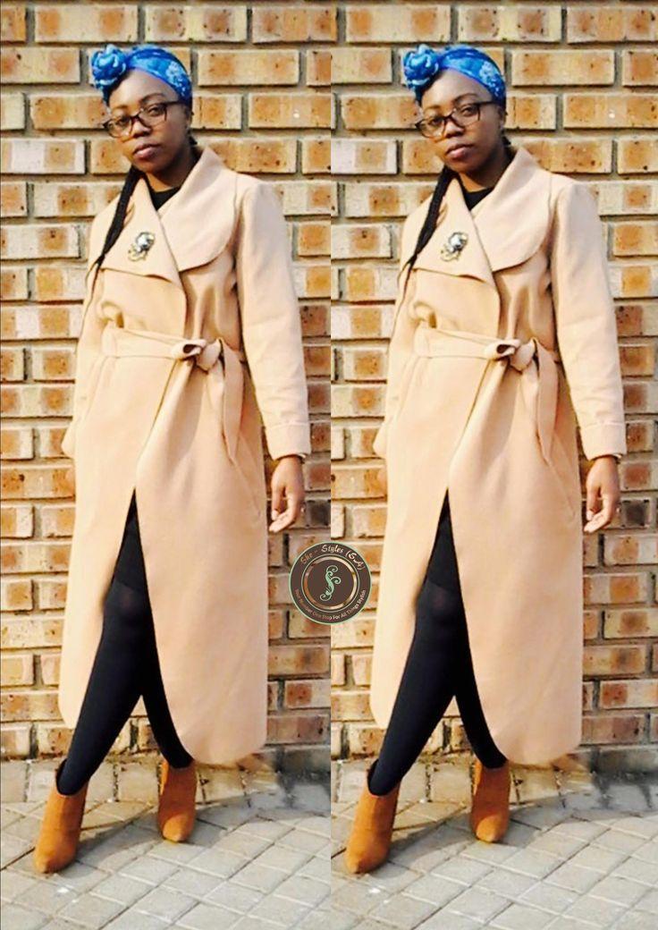 #SheStylesFashion#OversizedcollarCoat#VintageLook#SouthAfricanFashion#WinterTrends#StylesByMsB