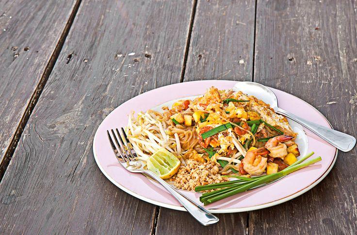 Thajské smažené rýžové nudle (Pad Thai)
