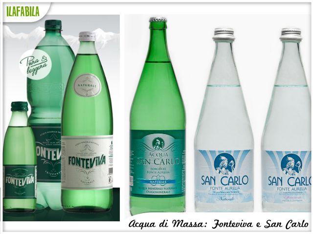 Acqua di Massa: Fonteviva e San Carlo
