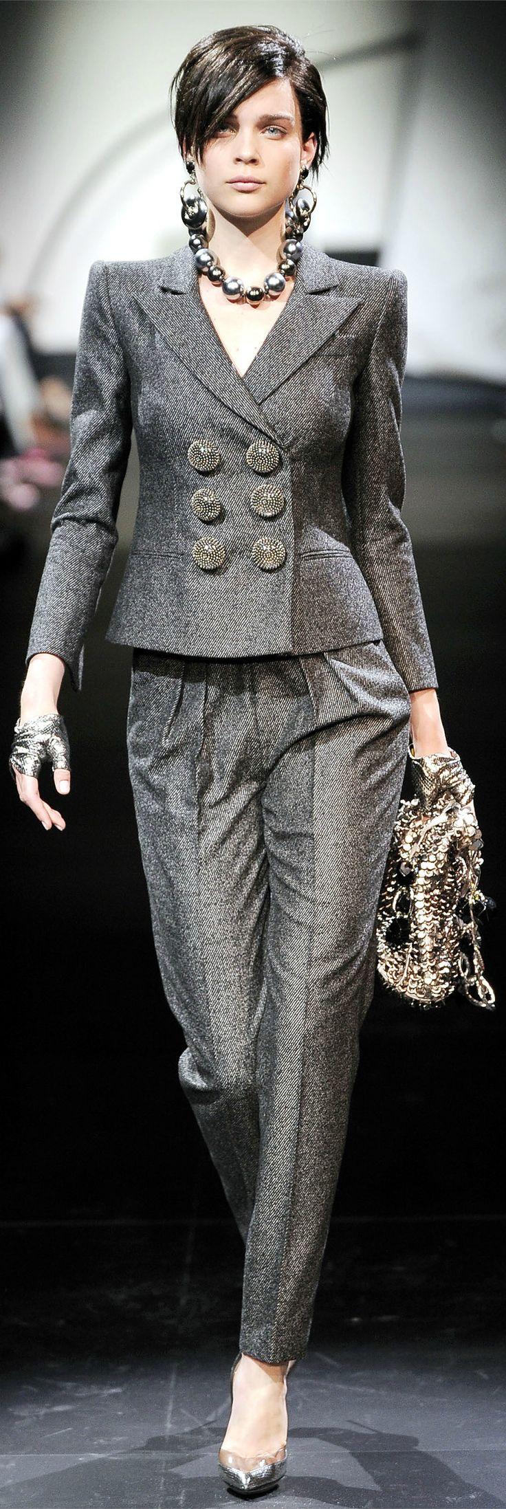 Armani Privé Haute Couture Spring Summer 2010 collection