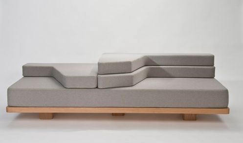 Vary by Nina Bruun is a Leveled Couch That Can Be Customized by Users #seating trendhunter.com