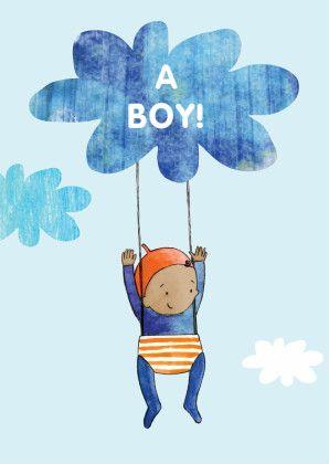 geboortekaartje felicitatie - Felicitatiekaarten - Kaartje2go
