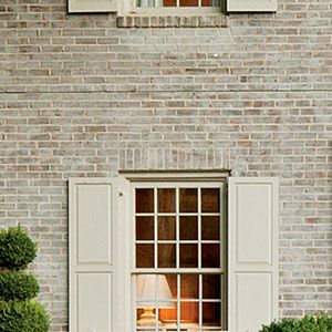 An Unbelievable Exterior Makeover Paint My Brick House Pinterest And