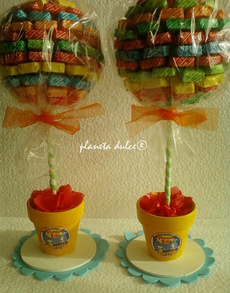 topiario de Caramelos  Candy topiary