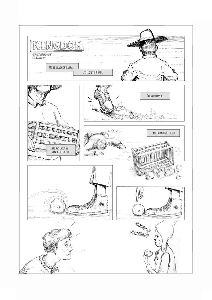 One page comic. Kingdom. English version