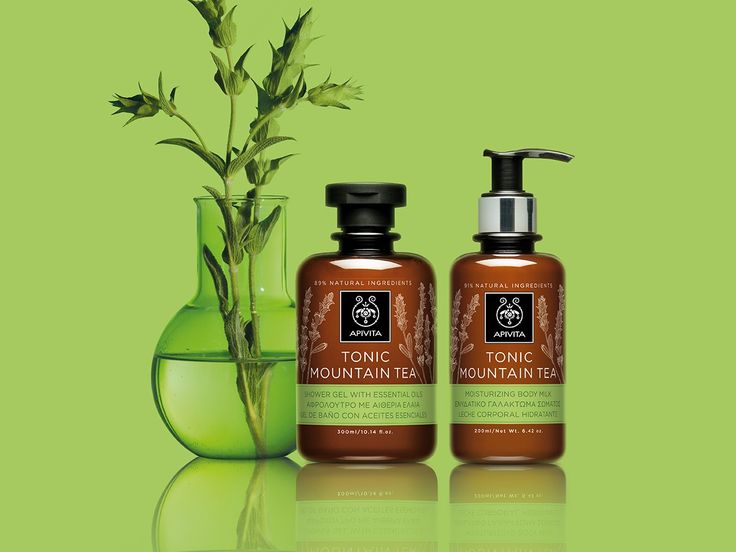Toning & antioxidant protection with the power of #greek #nature! New #tonic #mountaintea #bodycare . #APIVITA #innovation: infusion of 3 organic sideritis species for antioxidant protection & moisturization!