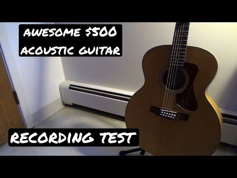 Guild F‑2512E 12-String Jumbo review and recording sound