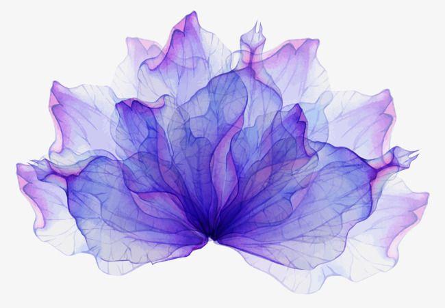 Decorar flor morada material, Patron Decorativo, Violeta, Flor Imagen PNG