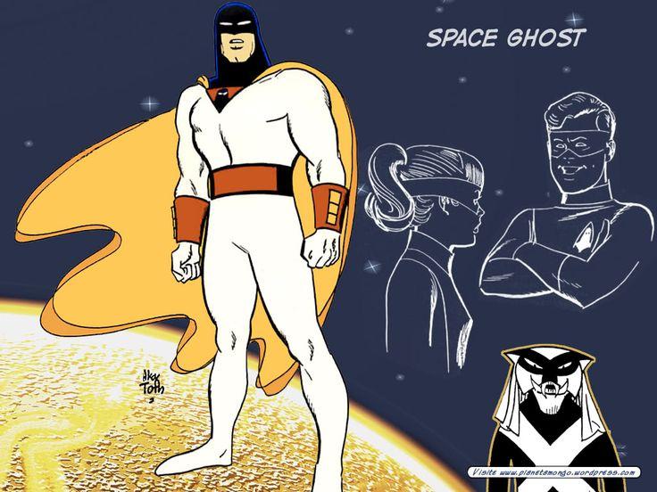 Space Ghost, de Alex Toth