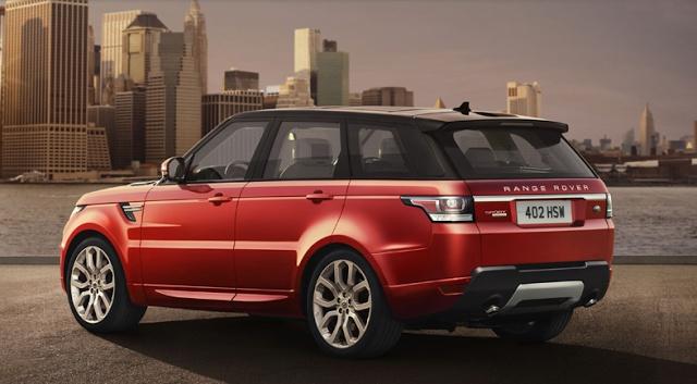 WANT!!! New 2014 Range Rover Sport Casting An Eye Over New York!