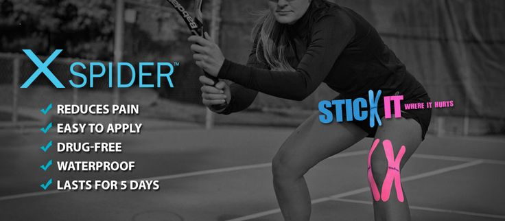 SpiderTech™   KINESIOLOGY TAPE FOR RECOVERY / PERFORMANCE / PREVENTION