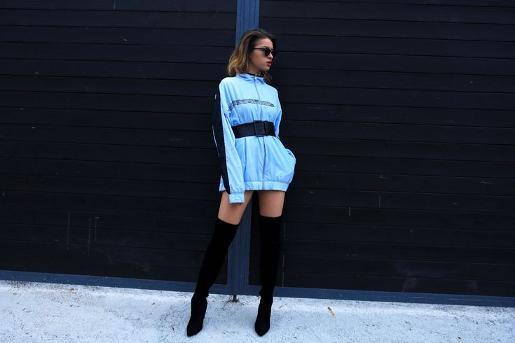 Attitude is everything#fashion #lifestyle #streetstyle #chic #trend #urban #look #fashionblogger #style #outfit #rayban #nike #boots #black #blue #fashionblog #ootd