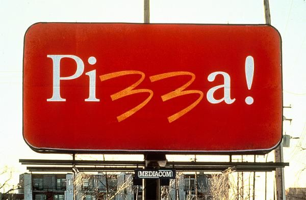 PIZZA!, Mcdonald's Pizza, Cossette Communication-marketing, McDonald's, Print, Outdoor, Ads | Gold Winner 1992