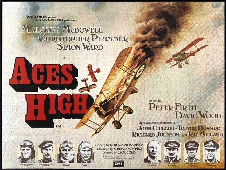 Aces High (1976) IMDb David wood, Trevor howard, Peter