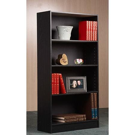 Orion 4Shelf Bookcase Multiple Finishes by BLOSSOMZ ** Visit the image link more details.