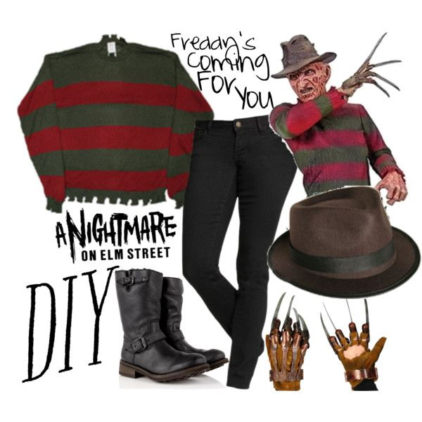 Freddy costume freddy halloween costumes freddy krueger costume diy