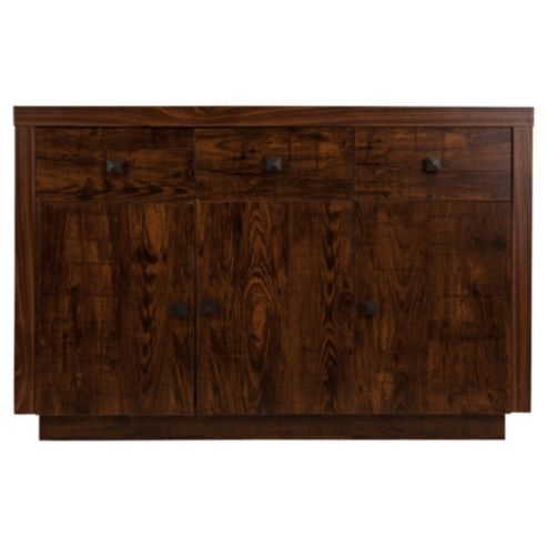 Buy Torino 3 Door Mango Effect Sideboard From Our Sideboards Range At Tesco Direct We Stock A Great Of Products Everyday Prices