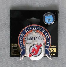 2000 NHL STANLEY CUP CHAMPIONS PIN NEW JERSEY DEVILS