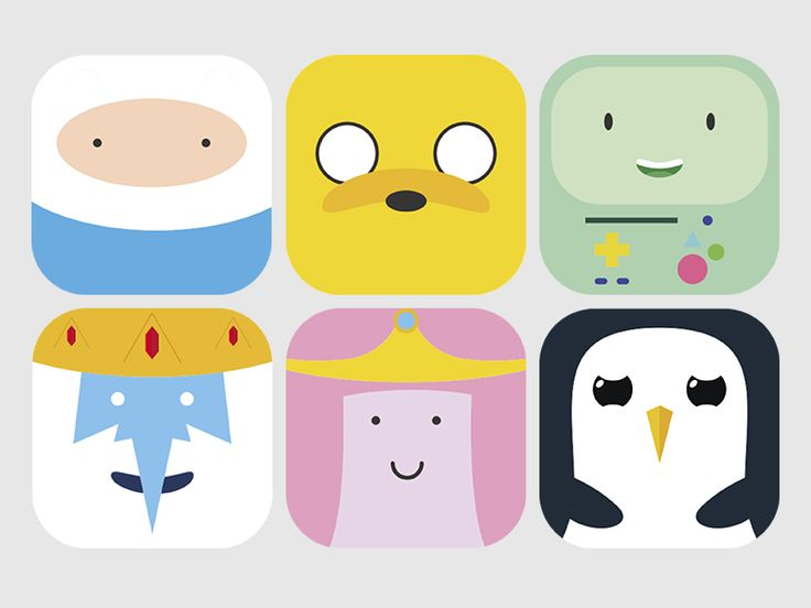 Adventure Time MacOSX icon pack (free download)