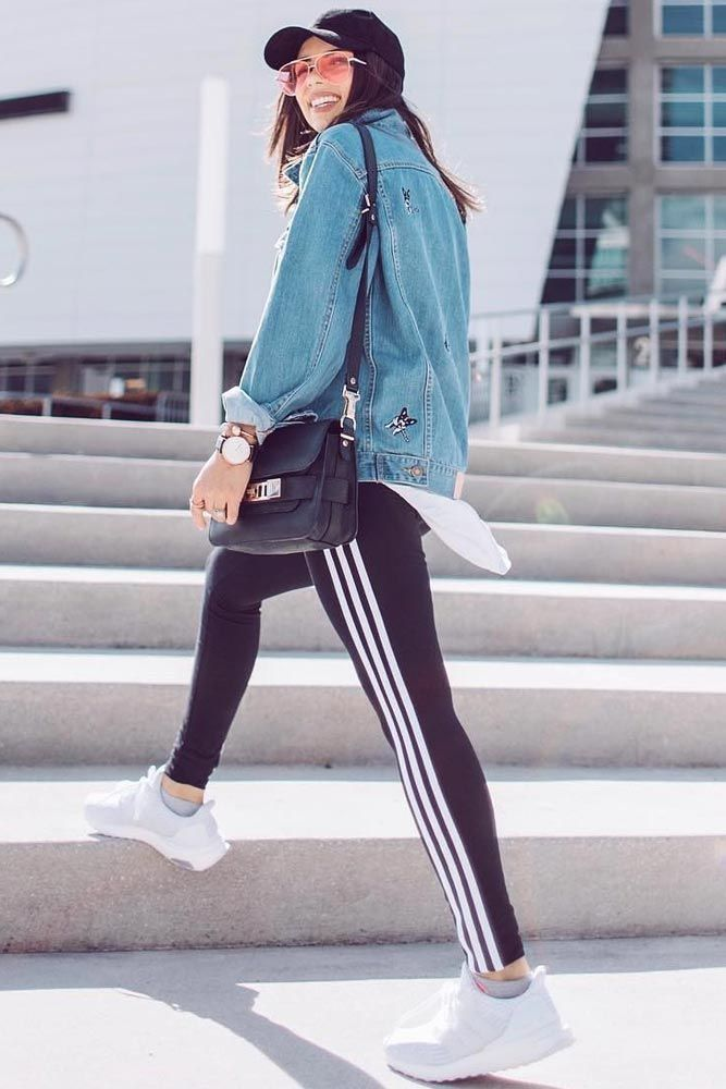 Feel Both Stunning And Comfy With Our Ideas Of Adidas Pants Outfit That May Be Worn Fashionably In Your Office Check Out Our Photo Gallery