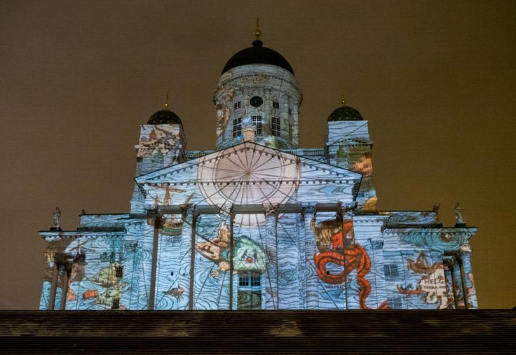 Lux Helsinki - It features light artworks in different points of Helsinki's city centre and of the Cable Factory, created by international and Finnish light artists. In addition to the light artworks, visitors can also enjoy other events like performances or circus spectacles.