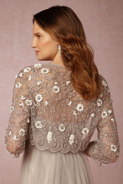 Cinzia Jacket in Bride Bridal Cover Ups at BHLDN