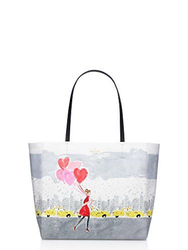 [ケイトスペード] KATE SPADE NEW YORK secret admirer heart balloons hallie pxru6370 トートバッグ レディース